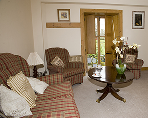 Moulinalmond Cottage sitting room
